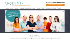 izdelali smo spletno stran za zobozdravnike